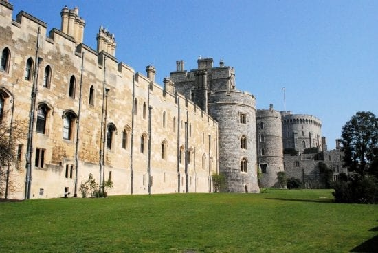 The grounds of Windsor Castle, the location for the Royal Windsor Horse Show