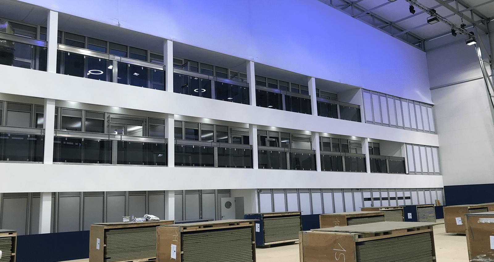 I-Novation Temporary Building