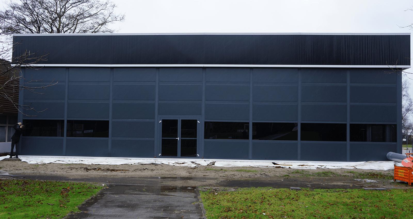 Manhattan Temporary Building - Warehouse Storage