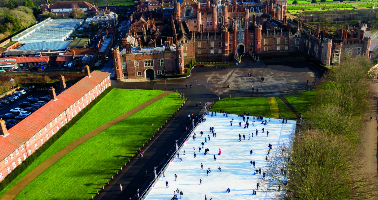 Hampton Court Palace Ice Rink in association with Historic Royal Palaces