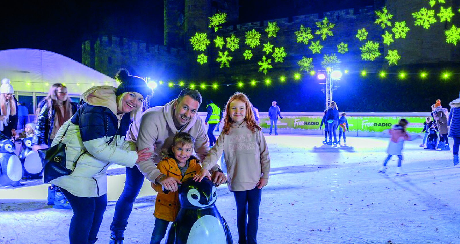 Warwick Castle Ice Rink in association with Merlin Entertainment